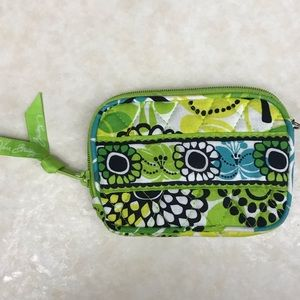 Vera Bradley Limes Up small coin purse/wallet bag